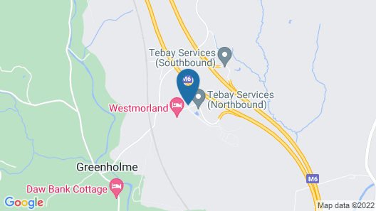 Tebay Services Hotel Map