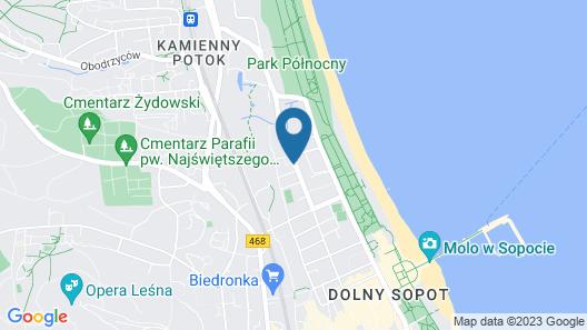 Hotel Haffner Map