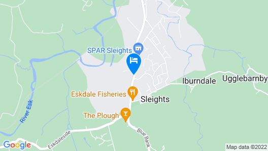 Netherby House Hotel Map
