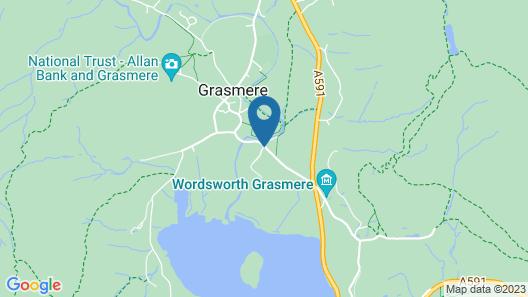 Plush Apartment in Grasmere District Near Grasmere Lake Map