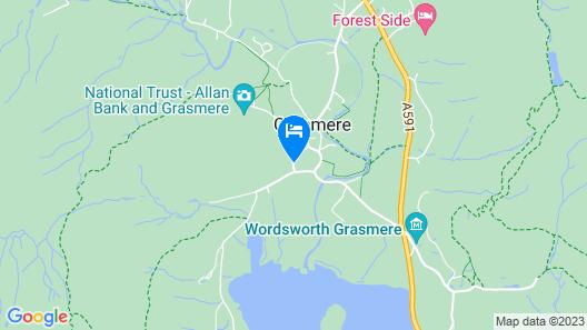Tweedies Bar and Lodge Map