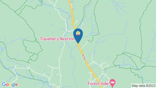 Traveller's Rest Inn Map