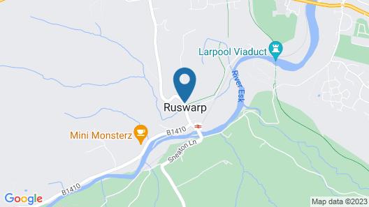 Ruswarp Hall Map
