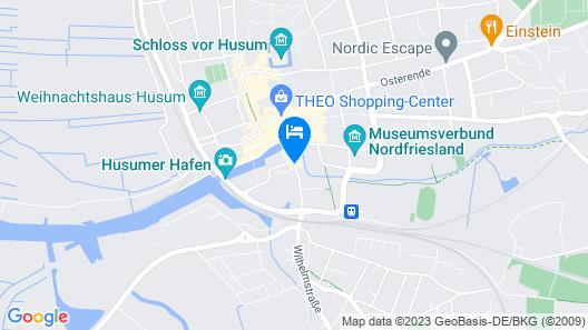 Thomas Hotel Spa & Lifestyle Map