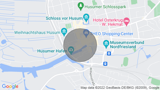 One of the nicest apartments in Husum. And so central! Map