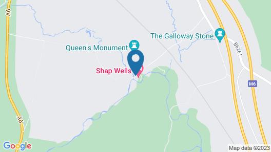 Shap Wells Hotel Map