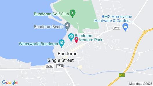 Bundoran Apartments Map