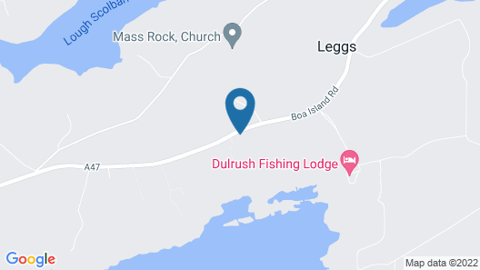 Dulrush Fishing Lodge and Guesthouse Map