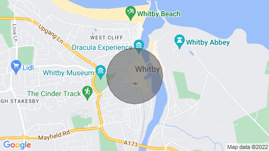 Endeavour II in Whitby Map