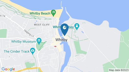 Whitby Bridge Luxury Apartments Map