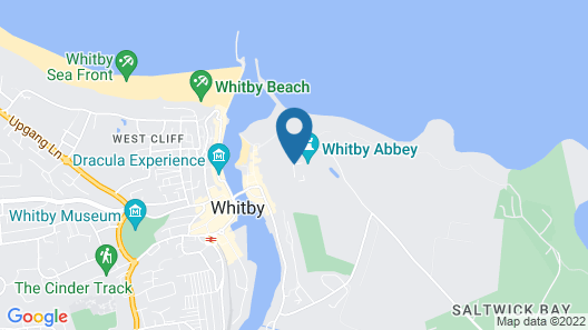 YHA Whitby - Hostel Map