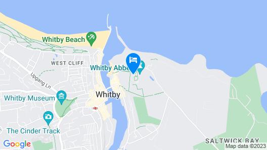 YHA Whitby - Hostel Map