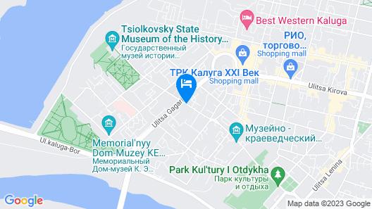 Four Points By Sheraton Kaluga Map