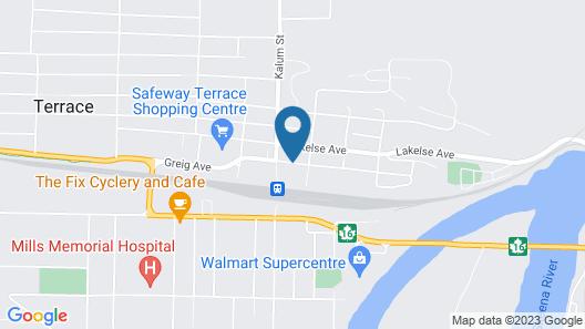 Best Western Terrace Inn Map