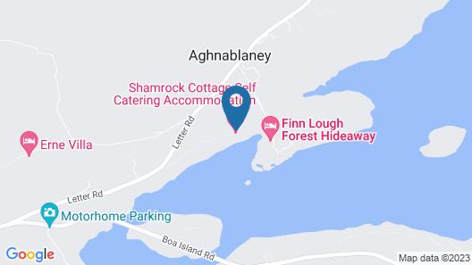 Shamrock Cottage Map