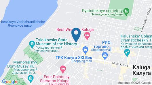 Na Dvoryanskoy Map