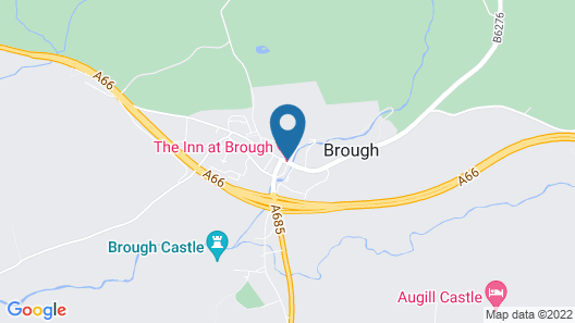 The Inn At Brough Map