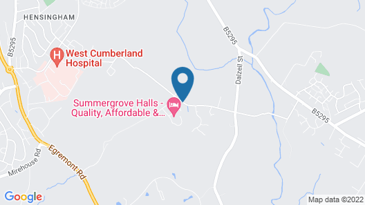 Summergrove Halls Map