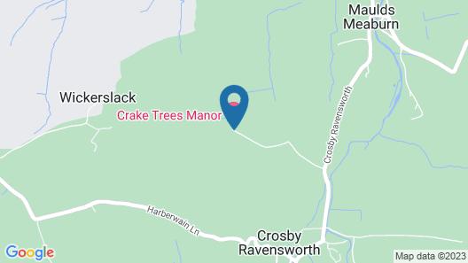 Crake Trees Manor Map