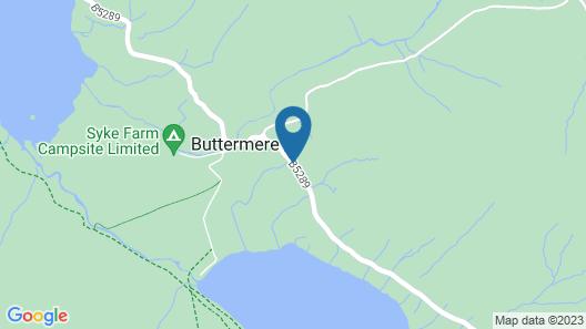 YHA Buttermere - Hostel Map