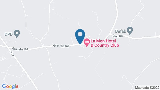 La Mon Hotel And Country Club Map