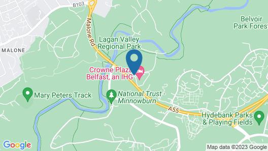 Crowne Plaza Belfast Map