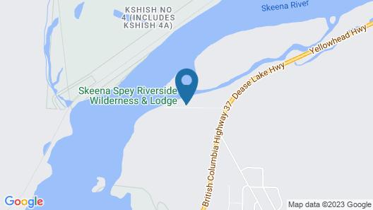 Skeena Spey Riverside Wilderness & Lodge Map