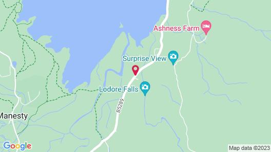 Lodore Falls Hotel & Spa Map