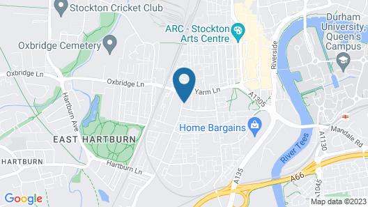 Secret Haven In Stockton Map