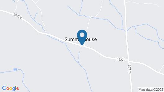 Raby Hunt Inn & Restaurant Map