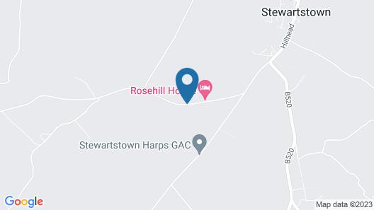 Rosehill House Map