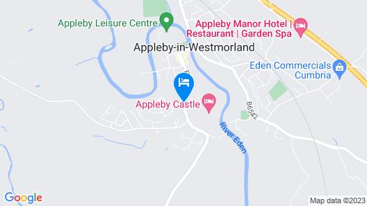 Appleby Castle Map