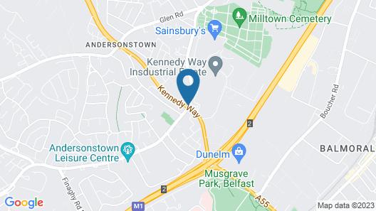 Greenmount Bed & Breakfast Map