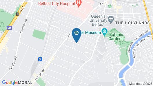 5 Eglantine Place Map