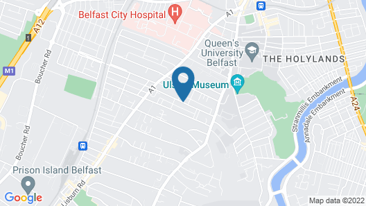 Malone Lodge Hotel, an Ascend Hotel Collection Member Map