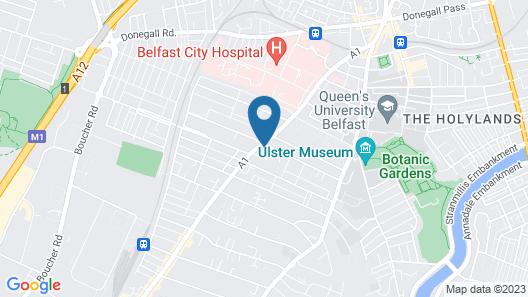 Wellington Park Boutique Apartments Map