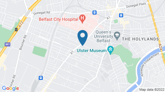 Wellesley Guest Accommodation Map