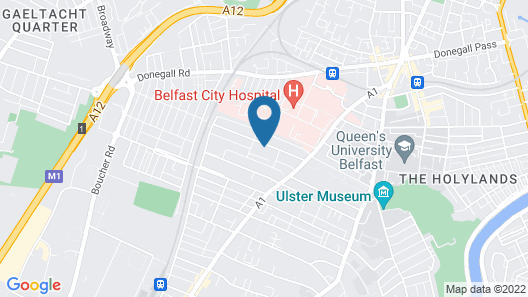 The Ulsterville Belfast Map