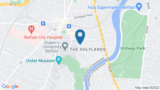 Lagan Backpackers Map