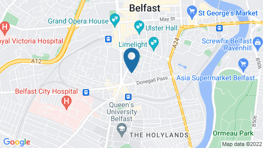 Belfast Apartment Map
