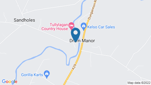 Tullylagan Country House Hotel Map