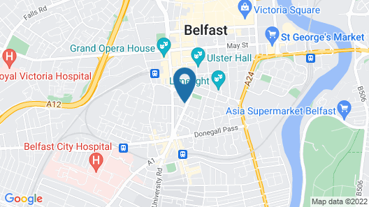 ETAP Belfast Map