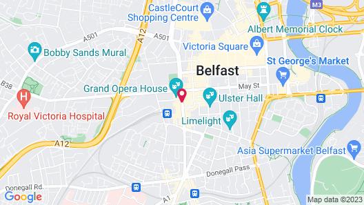 Europa Hotel Map
