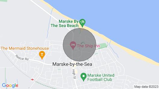 The Beach House, Marske-by-the-sea Map