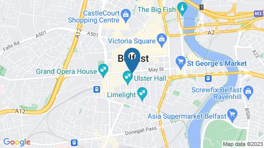 Ten Square Hotel Map
