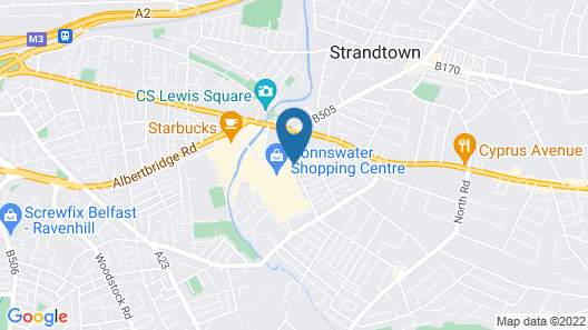 Titanic at Bloomfield Map