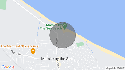 The Cottage, Markse-by-the-sea Map