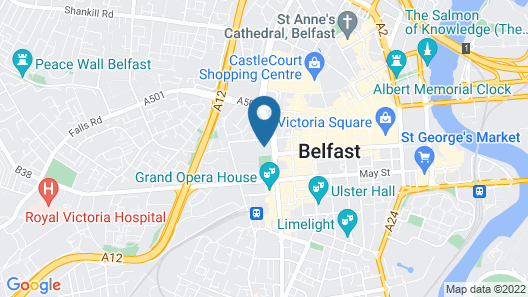 John Bell House- Campus Accommodation Map