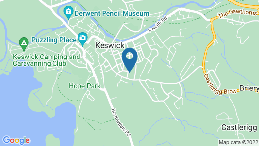 Tarn Hows Guest House Map