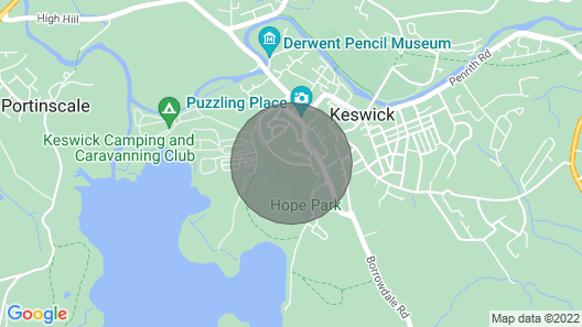 Crow Park Hotel Map
